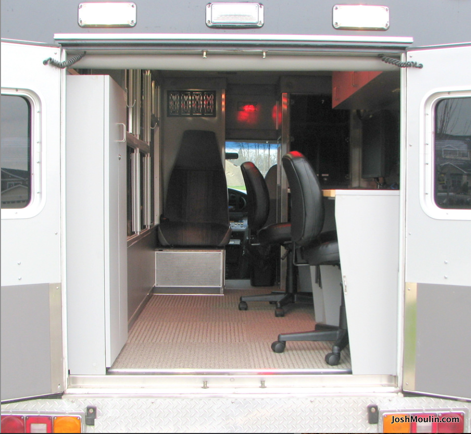 Remodeled condition of mobile forensics lab