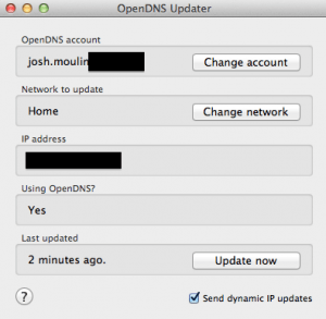 OpenDNS_Updater