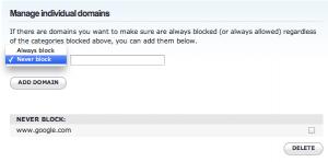 OpenDNS_blacklist-whitelist